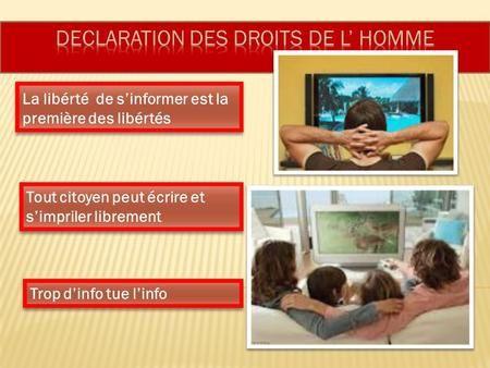 1 ) La liberté d'expression menacée en France. 2 et 3 ) Eric Zemmour menacée de mort civile.
