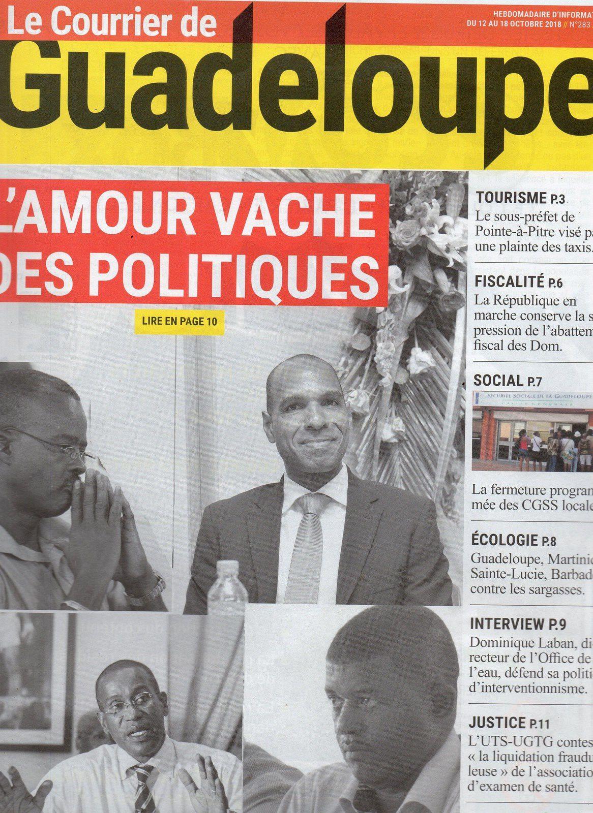 La Guadeloupe face au énième projet de changement statutaire, par Pierre-Edouard PICORD.