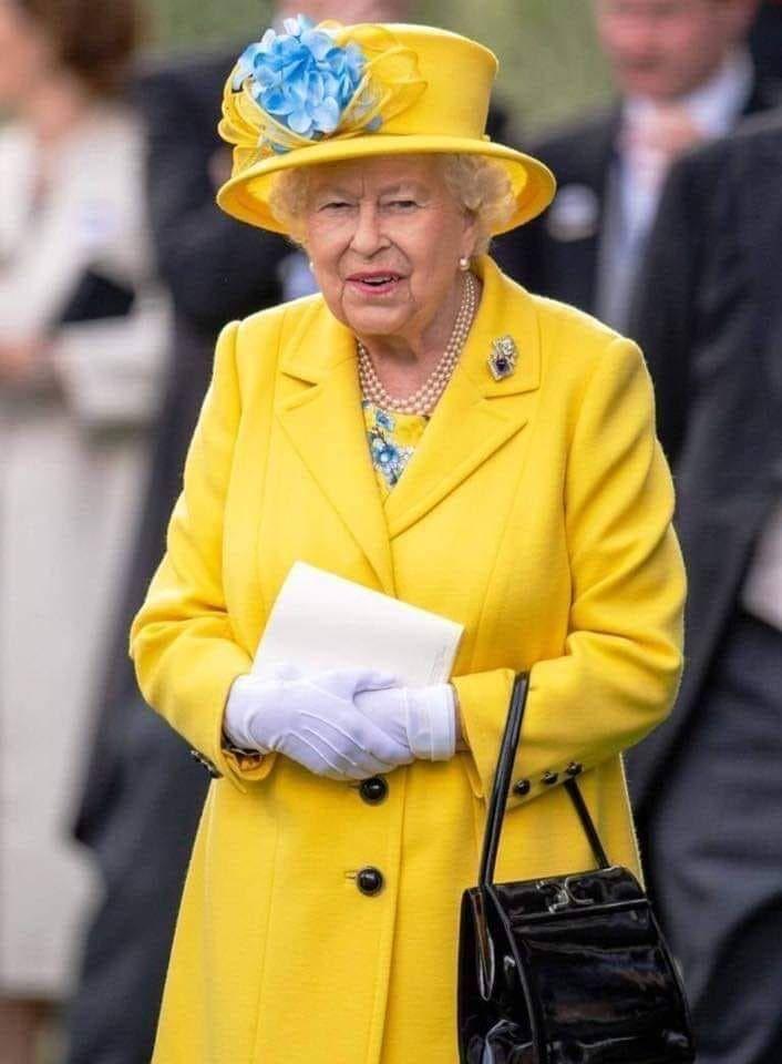 Fort intelligeamment, en Grande Bretagne, la reine a pris la tête du mouvement.