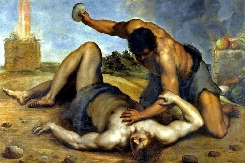 Caïn tuant Abel, ou la haine dans tous ses états !