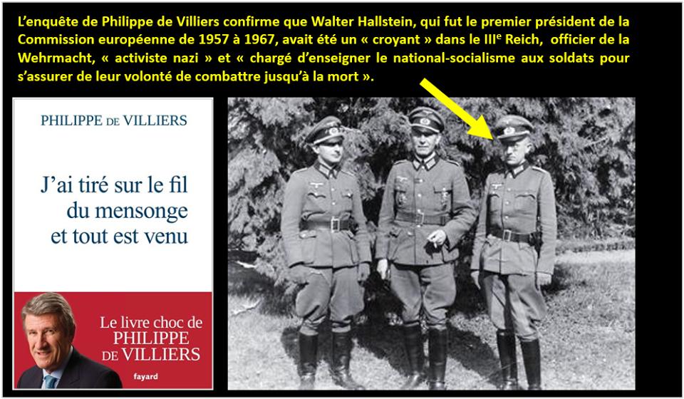 Selon Philippe de Villiers L'Europe c'est le grand Reich sous une autre forme au profit de l'Allemagne