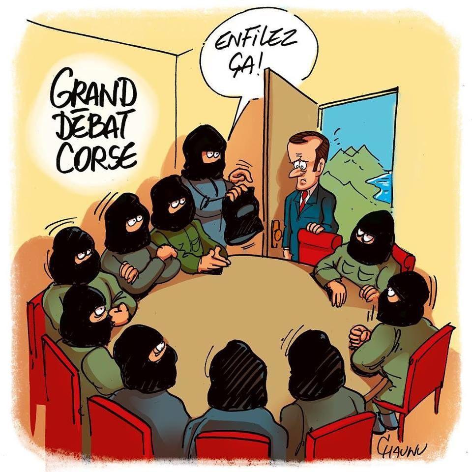En Corse, Macron ne doit pas se laisser berner par les séparatistes mafieux.