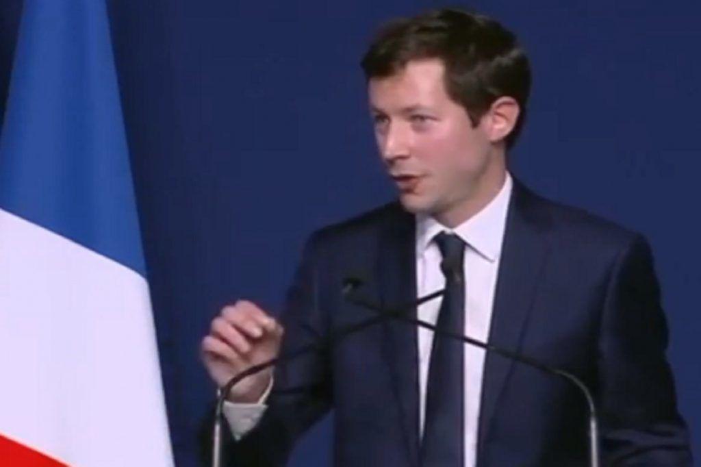 François-Xavier Bellamy, le philosophe de droite qui plaît de plus en plus aux Français.