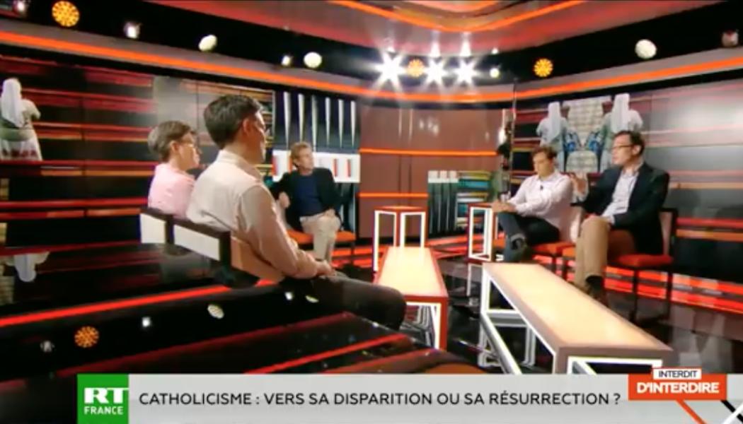 Débat: RT France, avec la présence notamment de Guillaume Cuchet, sur le catholicisme, sa dispartion ou sa résurrection.