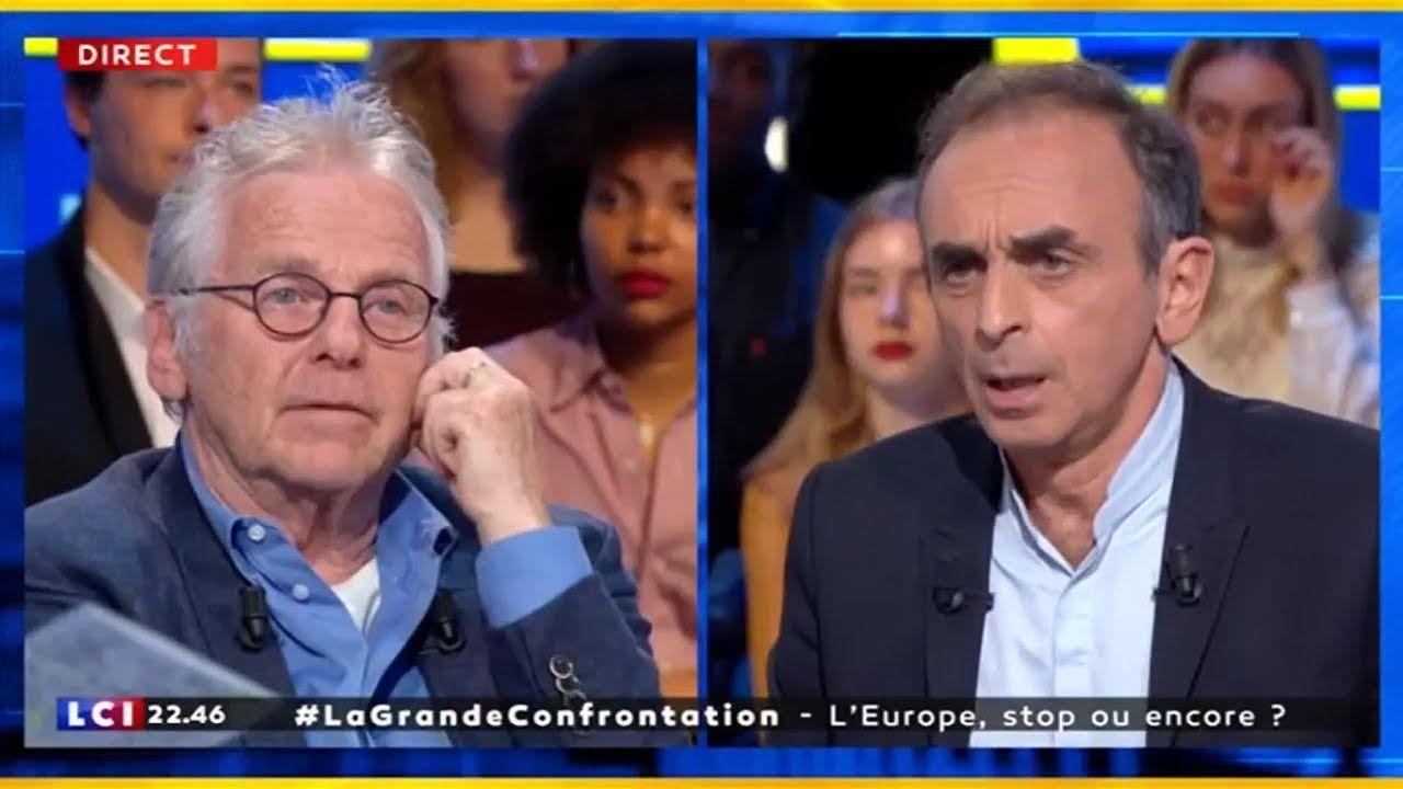 Actualités électorales: Zemmour contre Cohn-Bendit