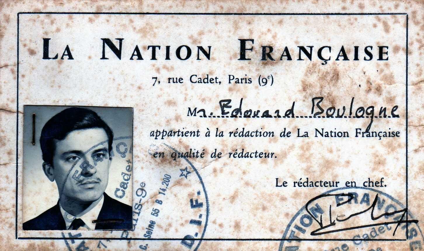 Un très grand penseur, Pierre Boutang, persécuté par le politiquement correct, et réhabilité par Alain de Benoist.