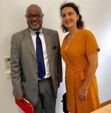 Madame Valérie DENUX, directrice de l'ARS en Guadeloupe, et M. Gérard COTELLON directeur du CHU de Pointe-à-Pitre.