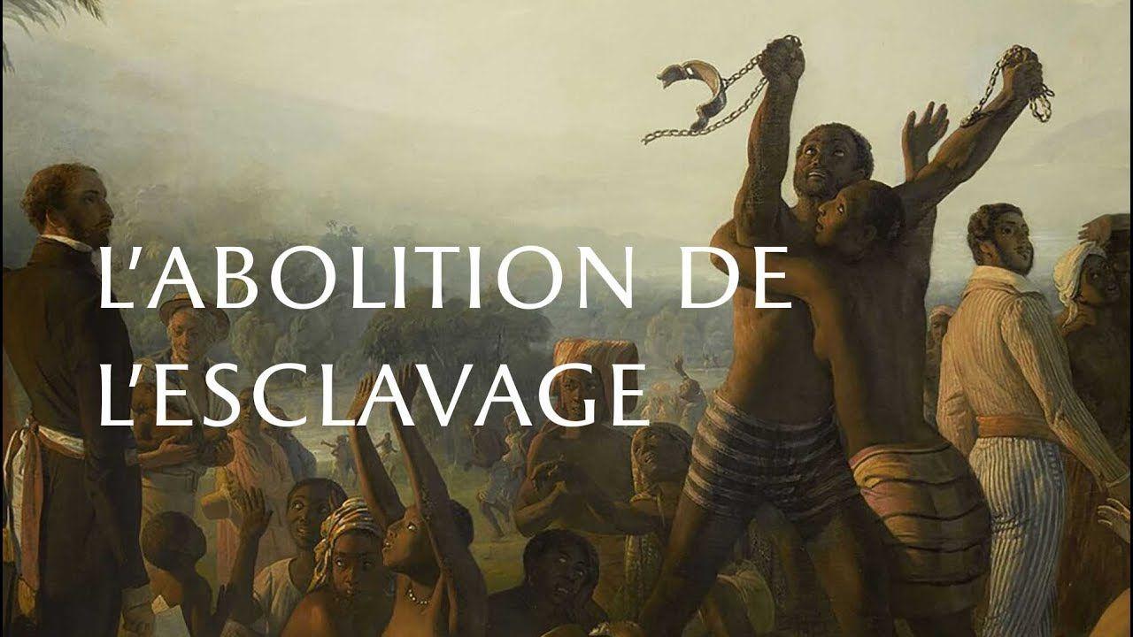 1) Image d'Epînal de l'abolition de 1848. 2) Victor Schoelcher.