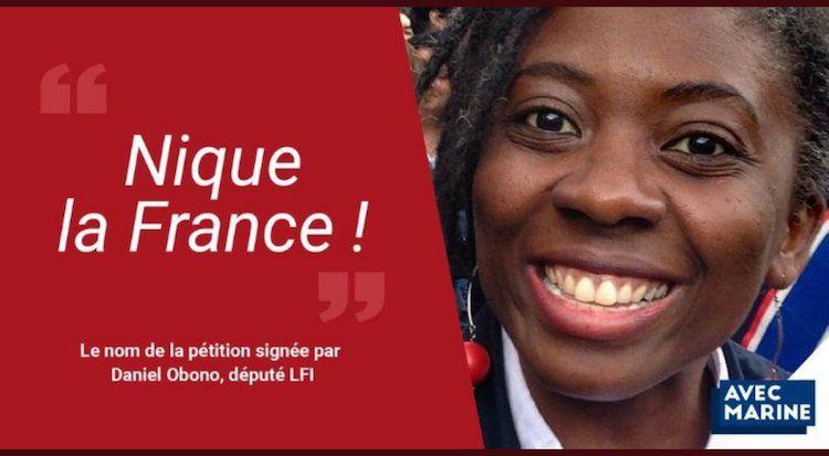 Danielle Obono sauvagement attaquée par le magazine «raciste» Valeurs Actuelles. (?).
