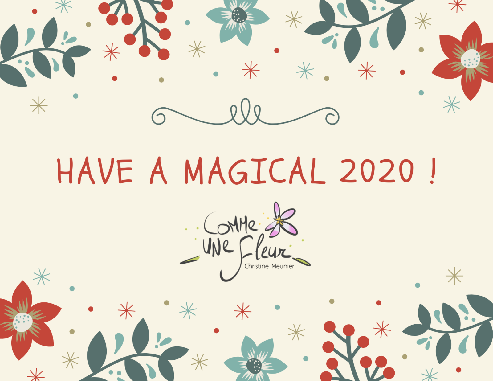 Have a MAGICAL 2020 !