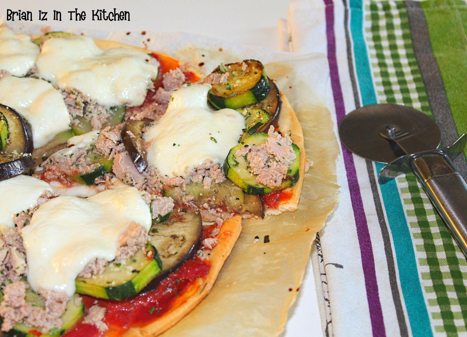 Pizza Légumes du Soleil, Thon & Mozzarella