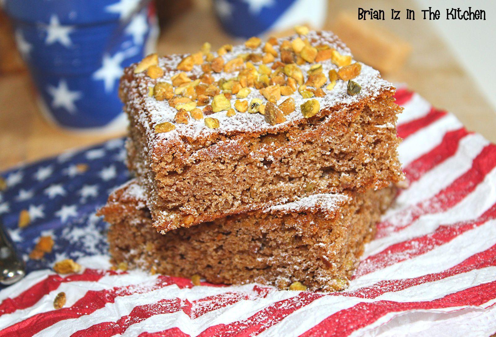 Brownie au Chocolat Praliné et Eclats de Pistache