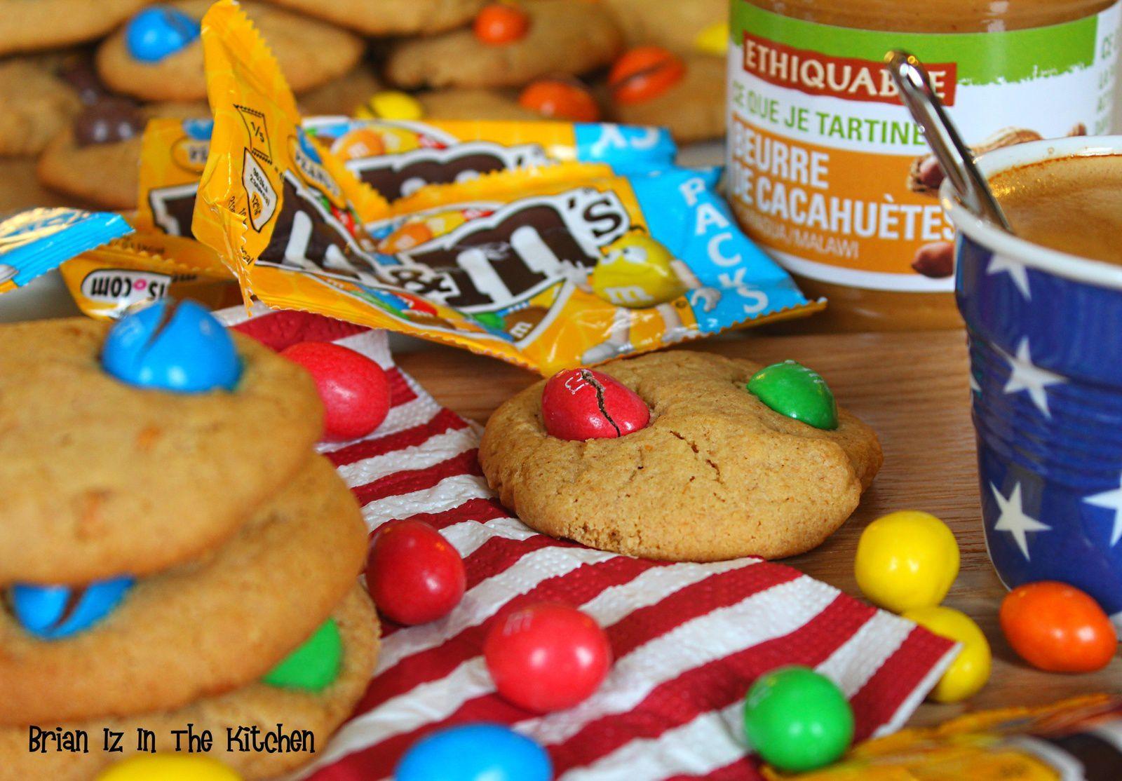 Cookies au Beurre de Cacahuètes et M&M's 2.0