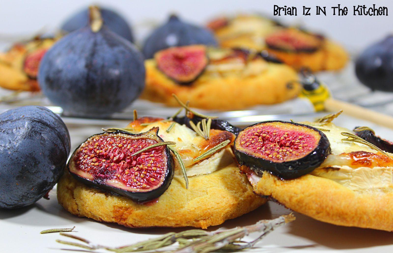 Cookies aux Figues, Chèvre & Miel