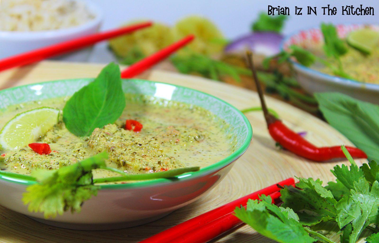 Curry Vert de Saumon
