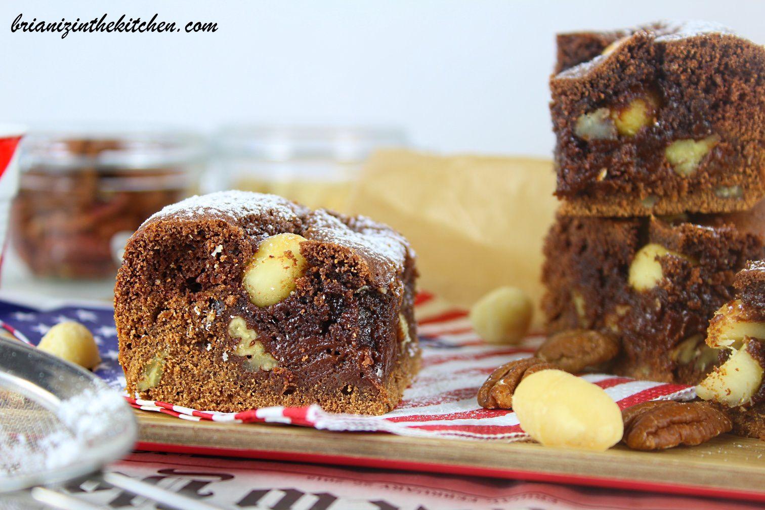 Brookie Tout Chocolat Noix de Pécan & Macadamia