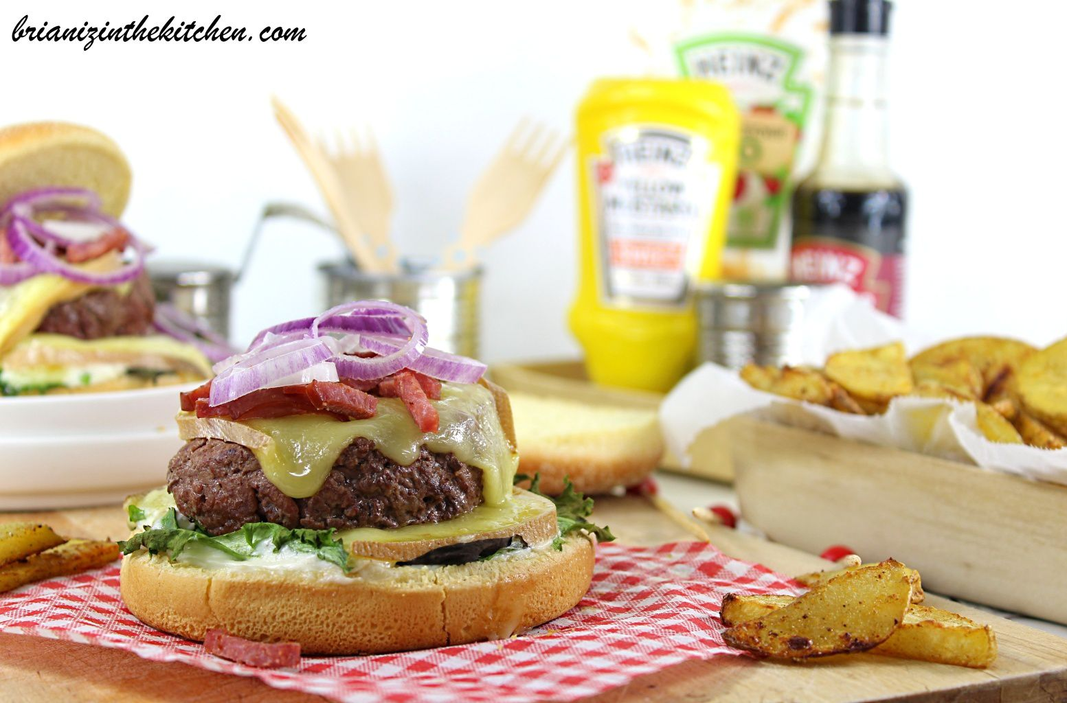 Burger Raclette & Potatoes Maison Sans Friture {Cuisson au Four}
