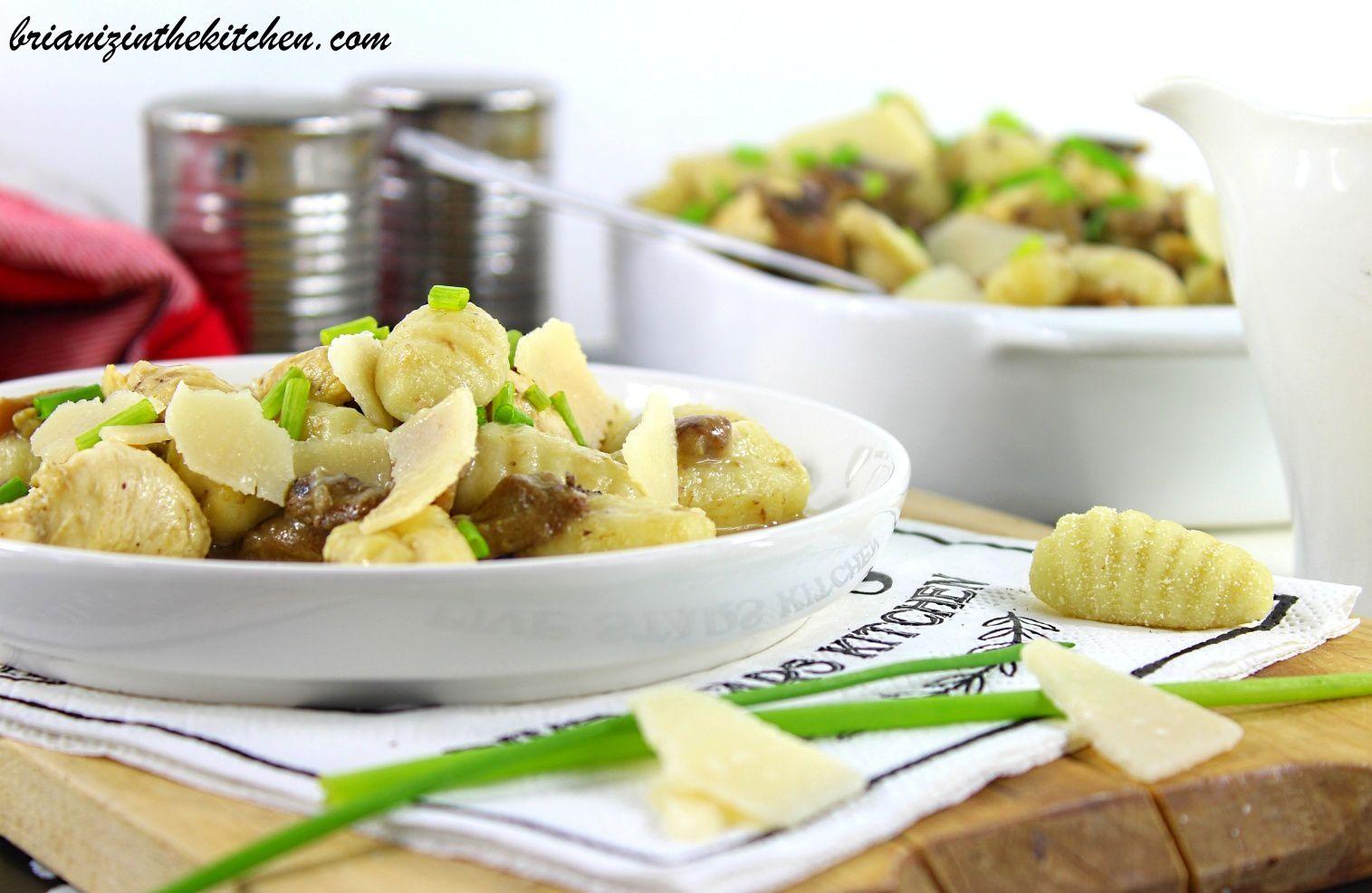 Gnocchi Poulet & Champignons