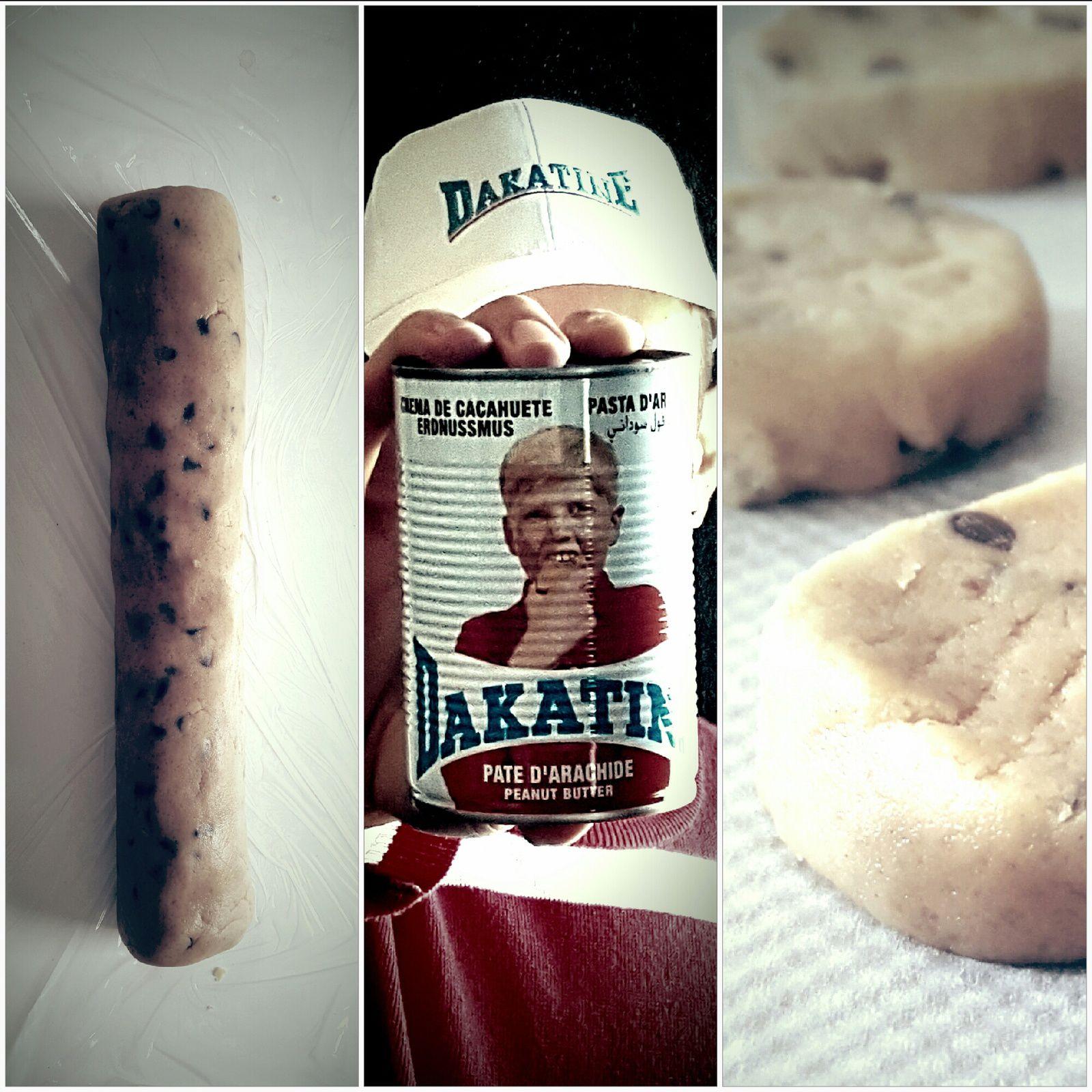 Shortbreads Beurre de Cacahuètes & Pépites de Chocolat - Dakatine