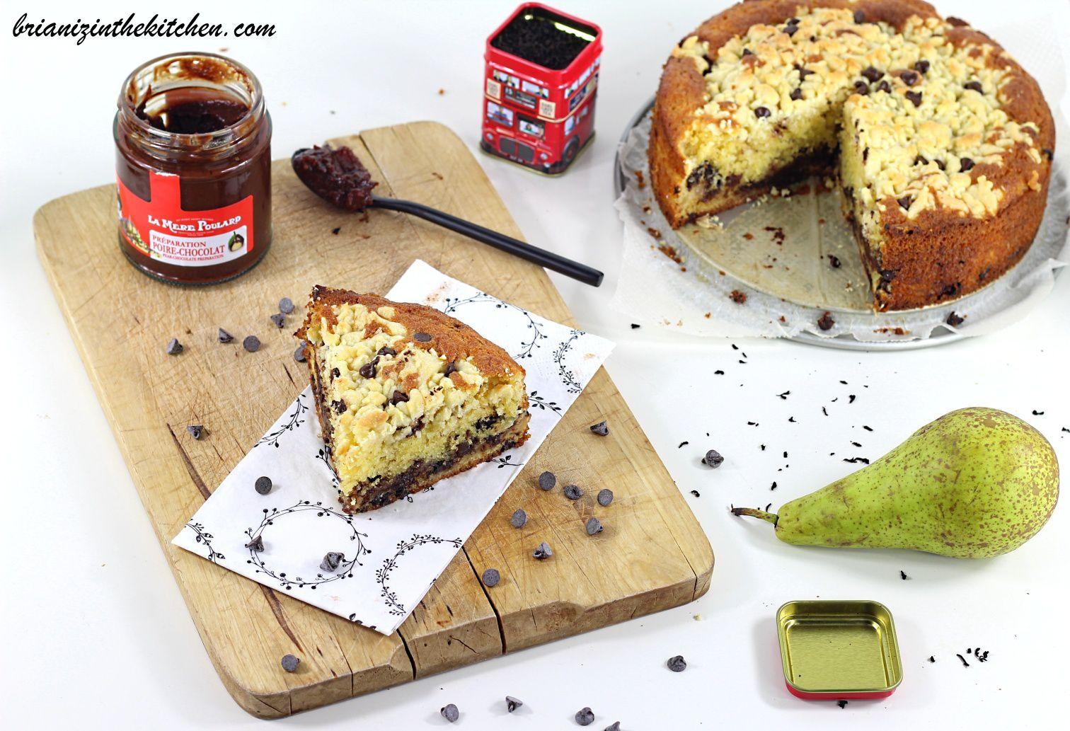 """""""Crumb Cake"""" Poires & Chocolat"""