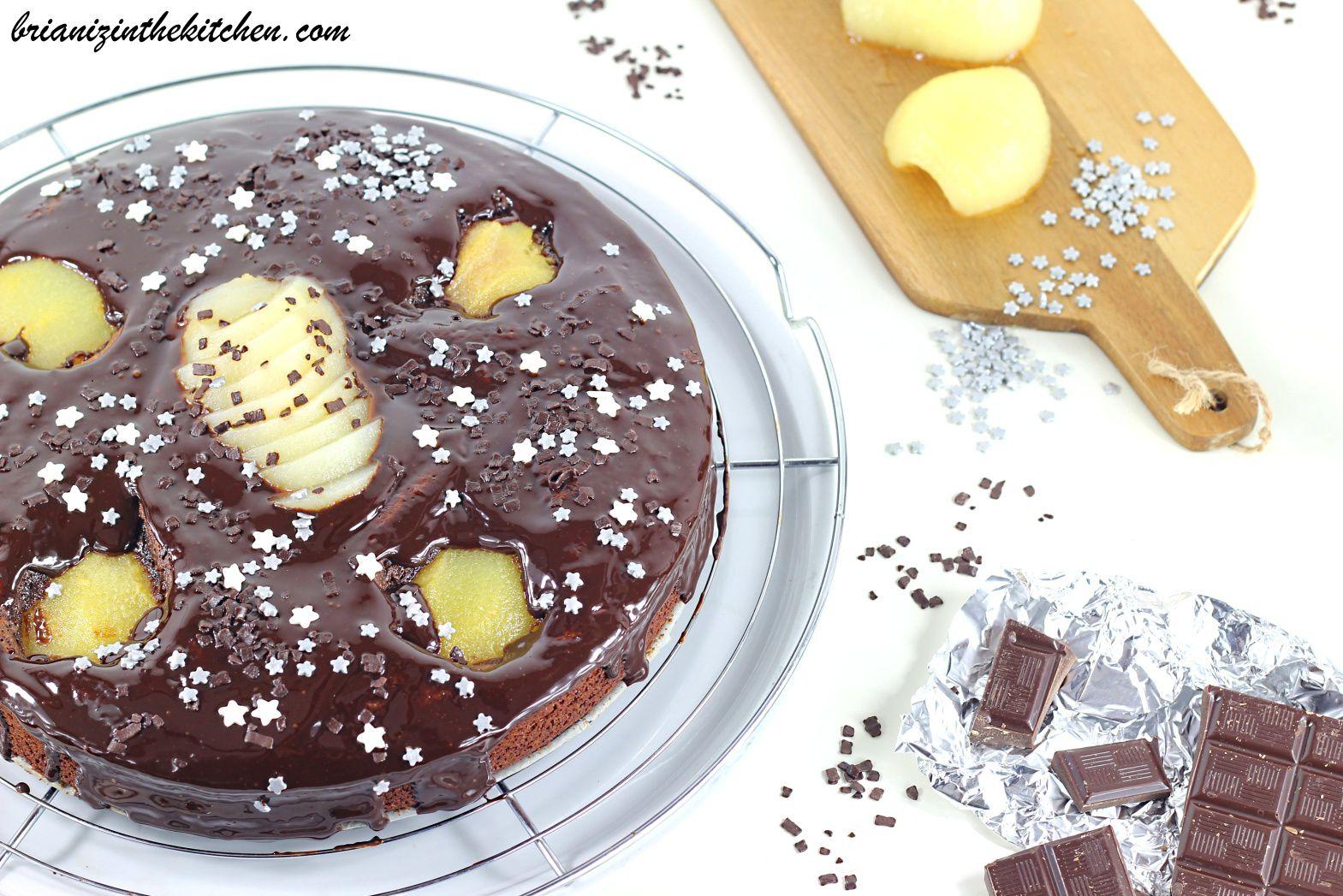 Gâteau Poires & Très Chocolat