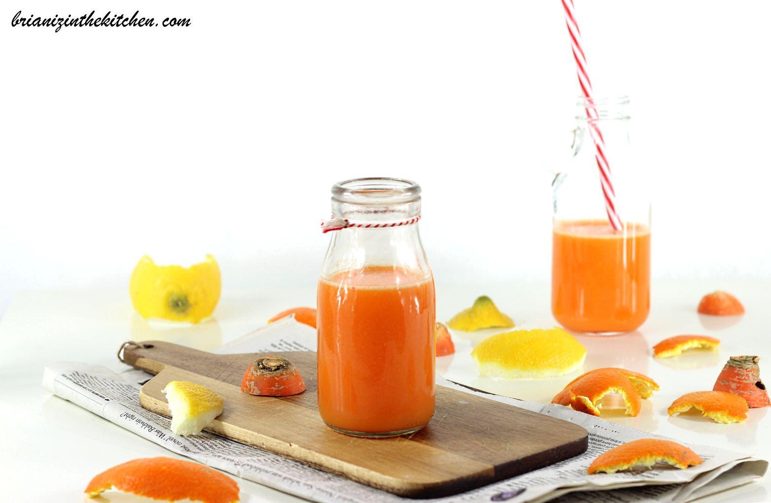 Cocktail ACE {Carotte, Orange & Citron}