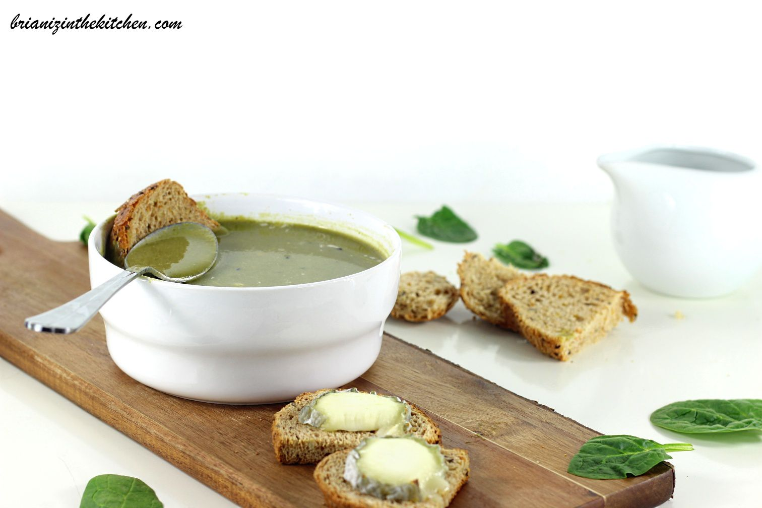 Green Soup {Brocoli & Epinards}