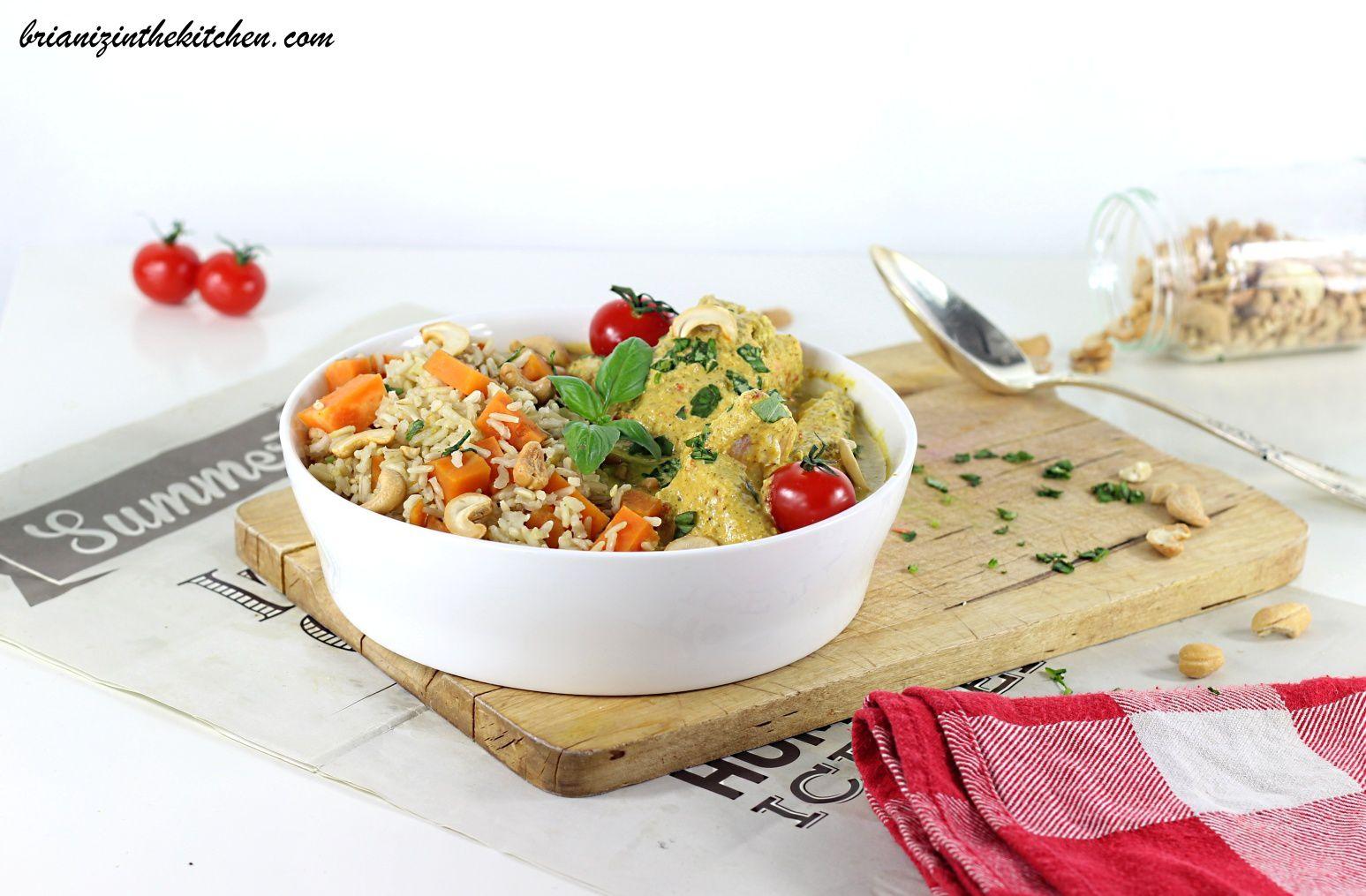 Curry de Saumon aux Saveurs Printanières