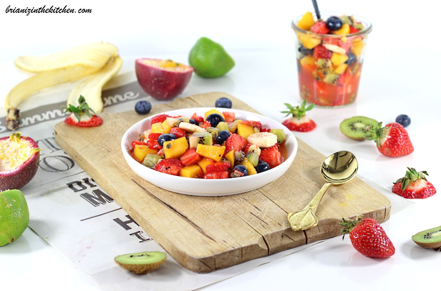 Salade de Fruits de Saison & Fruits Exotiques
