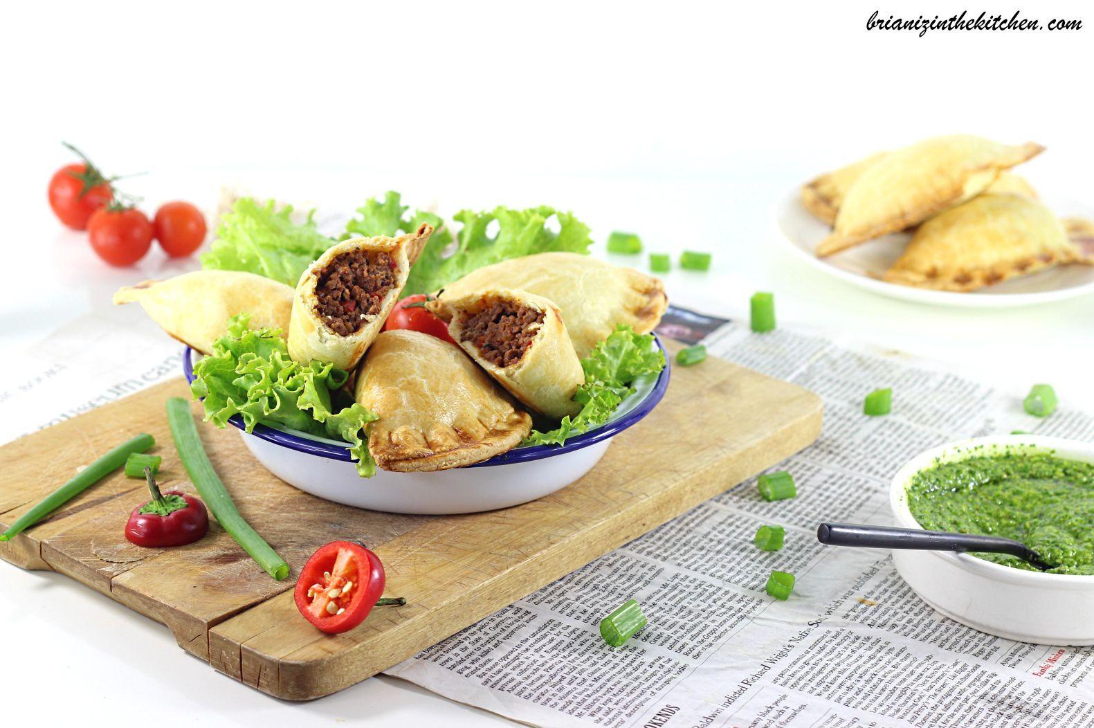 Empanadas de Boeuf sauce Chimichurri {100% Fait Maison} - Argentine