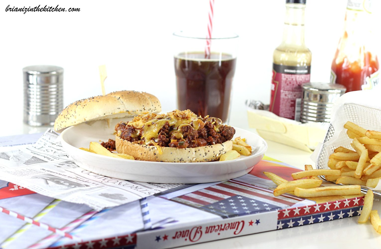 Sloppy Joe {Burger Bordélique à la Viande Hachée} - Etats Unis