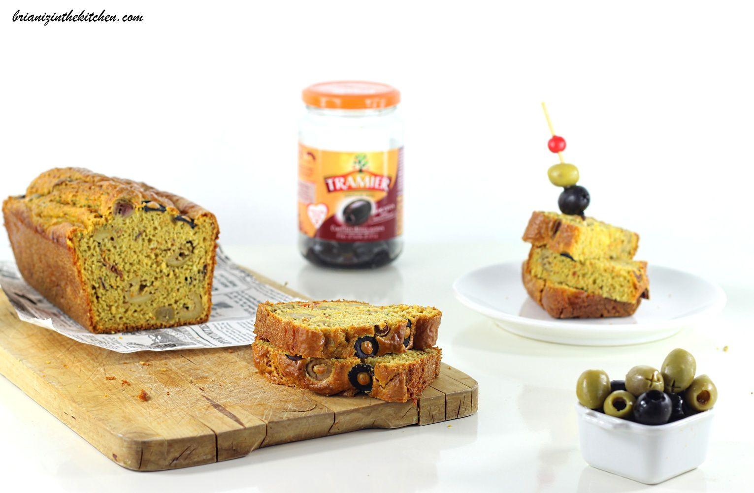 Cake Salé aux Olives