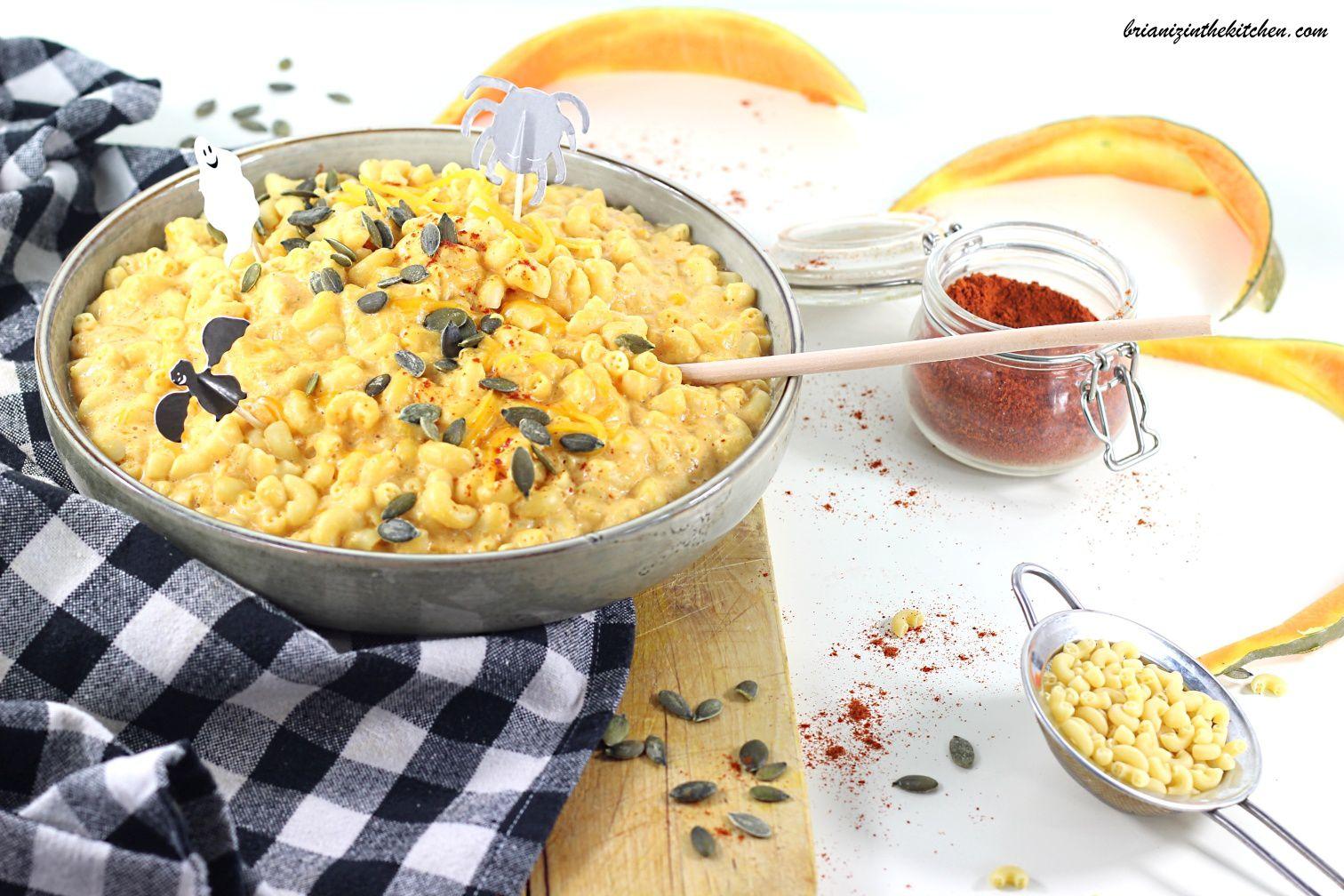 Mac and Cheese Bien Crémeux au Potiron {Version Allégée}