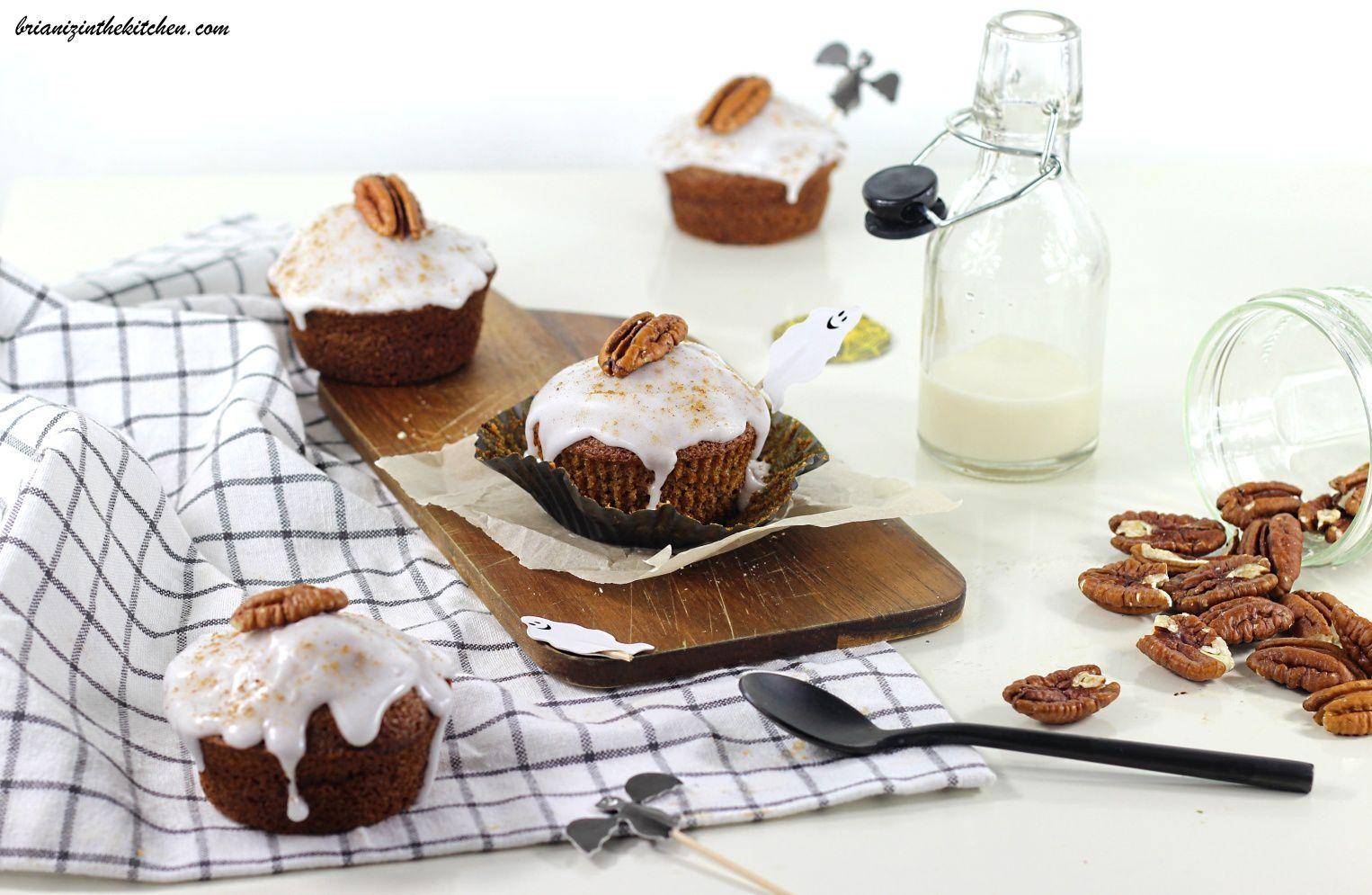 Muffins au Potiron et Quatre-Epices