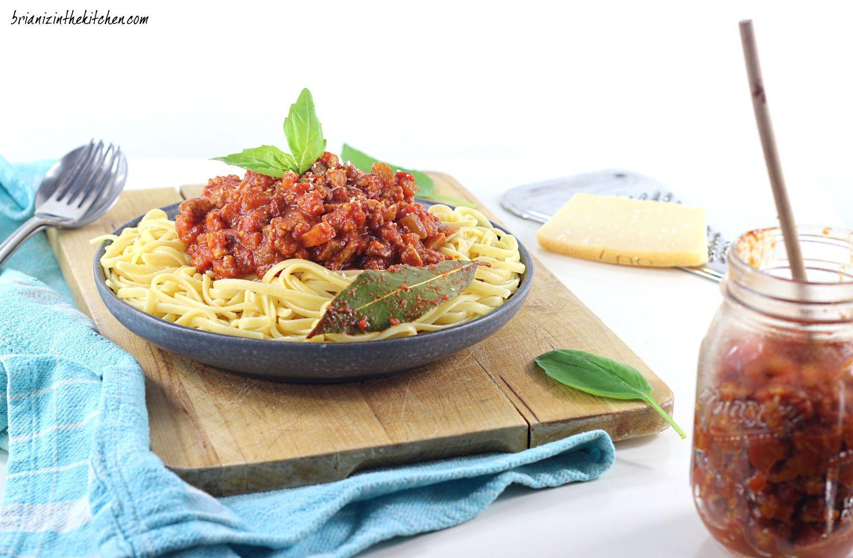 Linguines Sauce Bolognaise {Version Végétarienne Bluffante}
