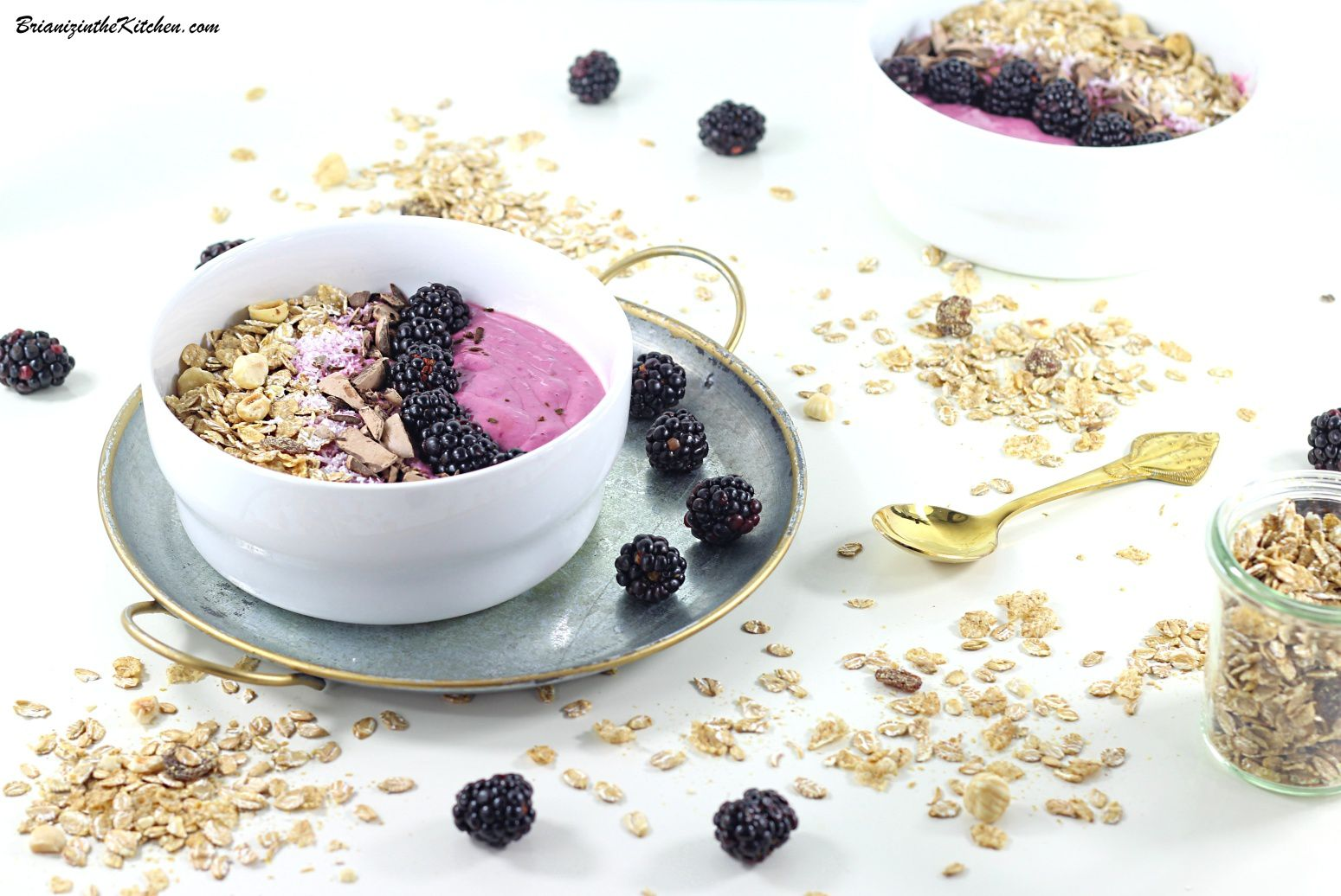 Smoothie Bowl aux Mûres