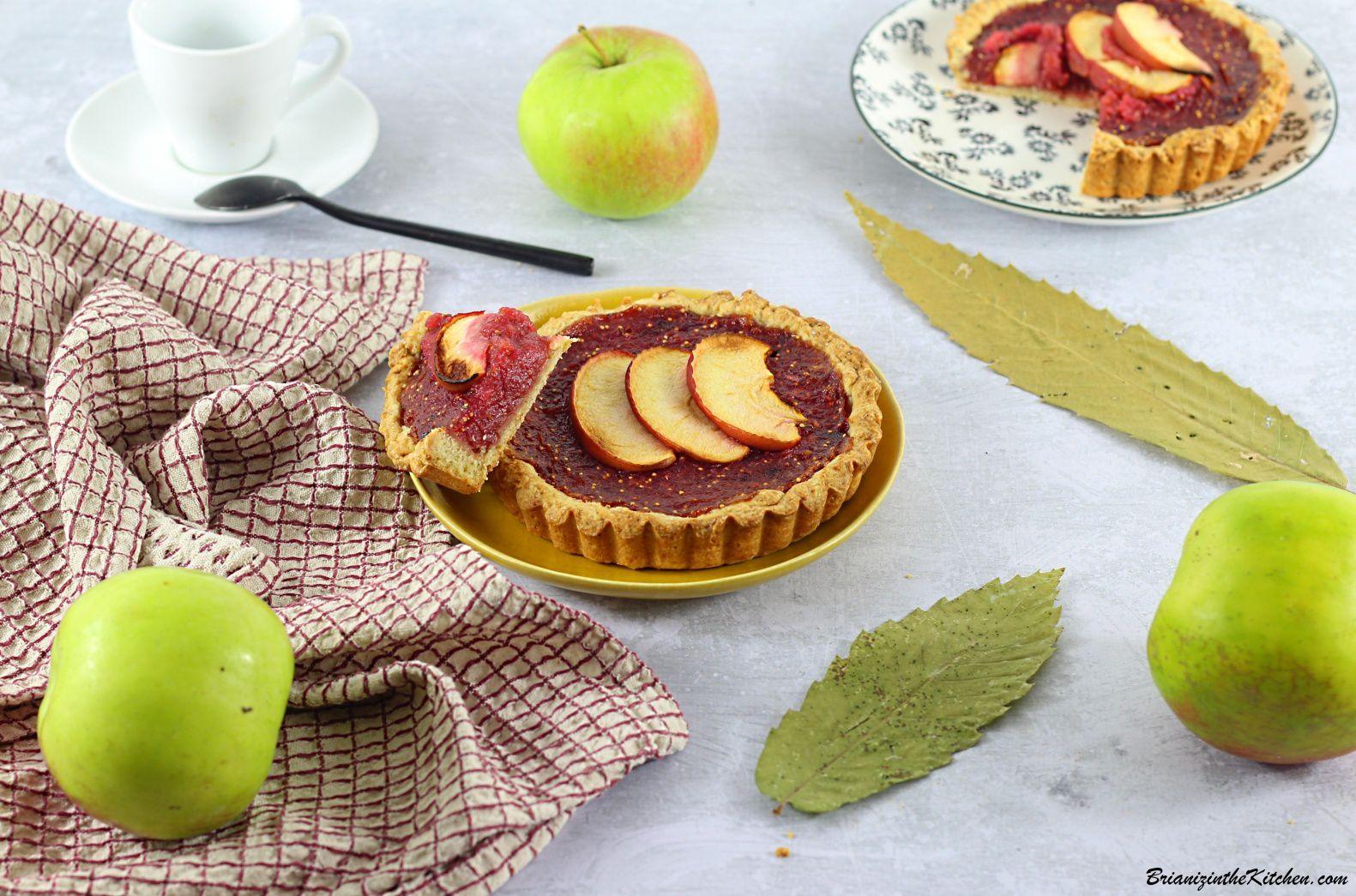 Tarte aux Pommes et aux Figues {Avec une pointe de...}