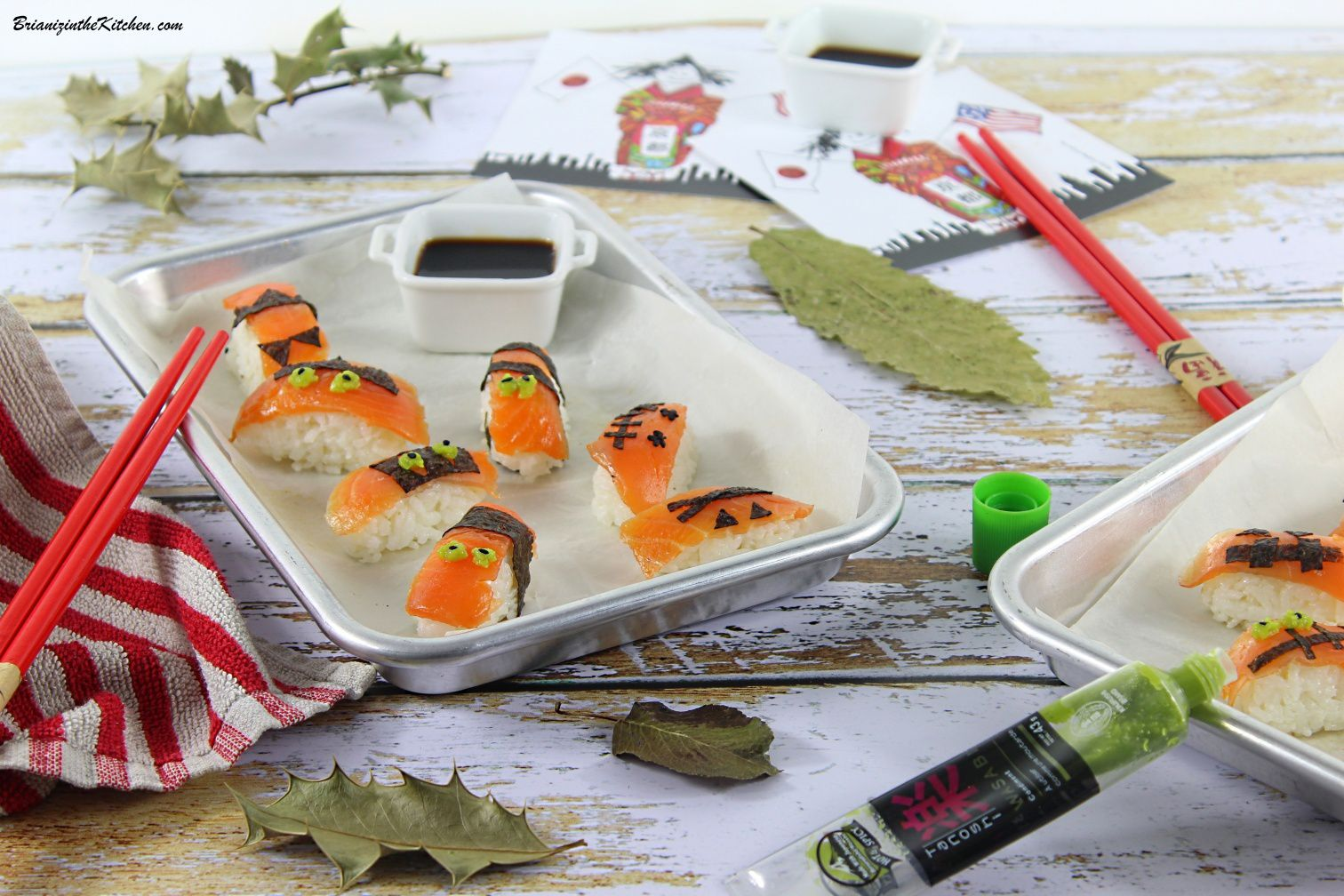{Scary} Sushis d'Halloween