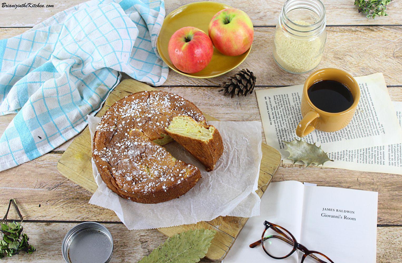 Gâteau Fondant aux Pommes {Recette Légère}