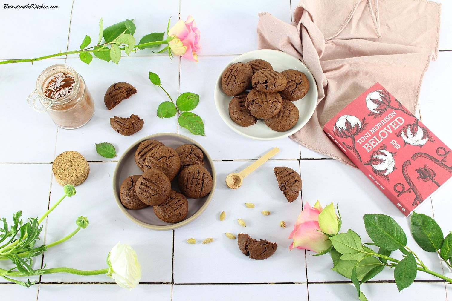 Biscuits Chocolat et Cardamome