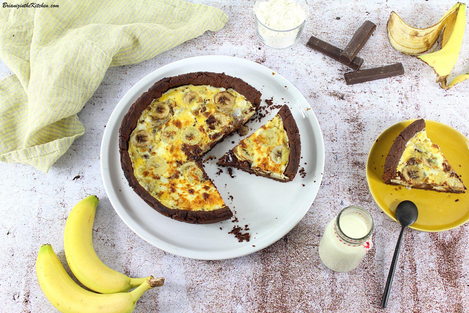 Tarte Bananes et Chocolat