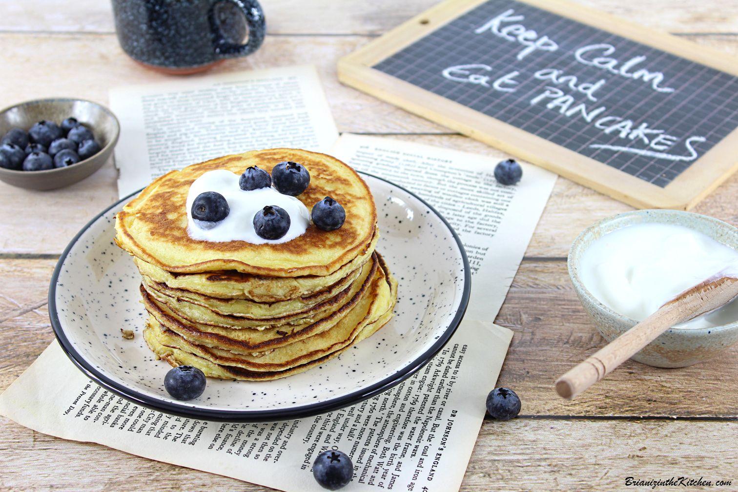 Pancakes Yaourt à la Grecque