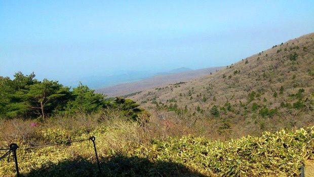 Corée du Sud - Île de Jéju - En route vers le volcan...