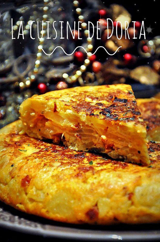 Tortilla au chorizo