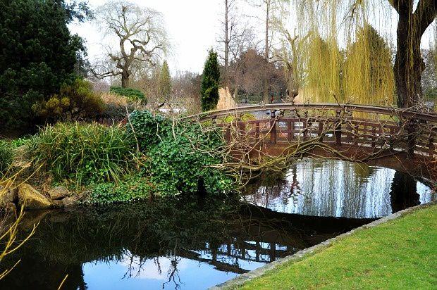 Doria à Londres... Regent's Park