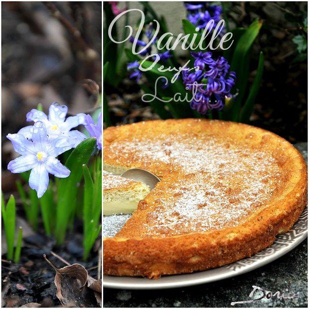 Gâteau Magique à la Vanille de Madagascar