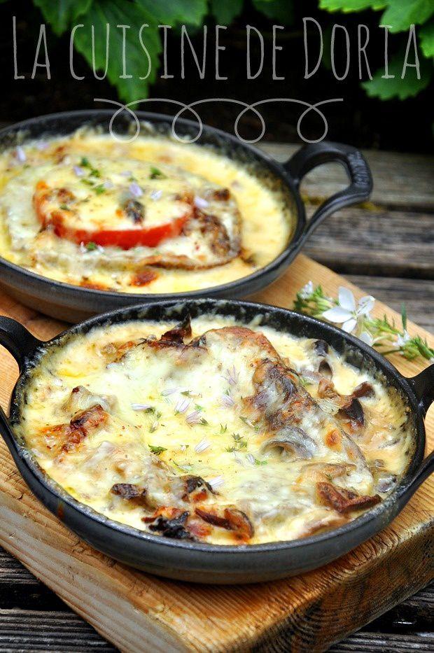 Croûtes aux fromages de Savoie et champignons
