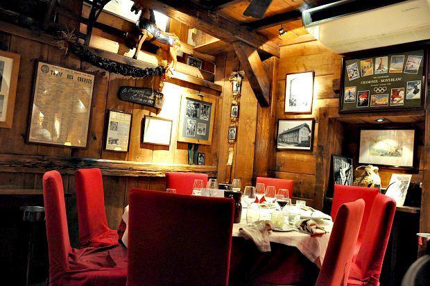 """Chamonix 2015 (5)... Restaurant """"La Calèche"""""""
