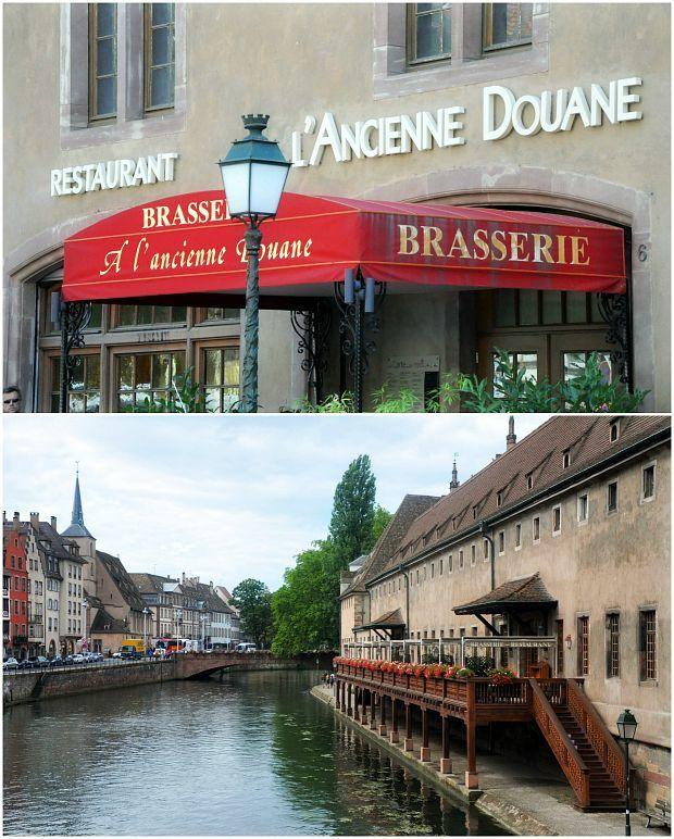 Strasbourg 2015 (6)... Restaurant Brasserie L'Ancienne Douane