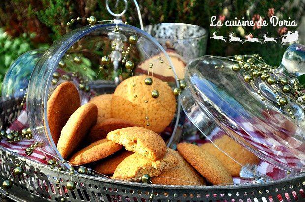 Cookies au miel et épices à pain d'épices